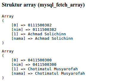 fetch-array-print-r