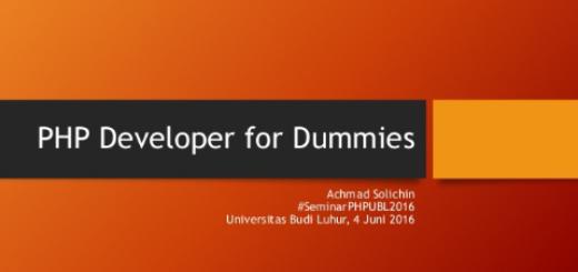 seminar-php-dev-for-dummies